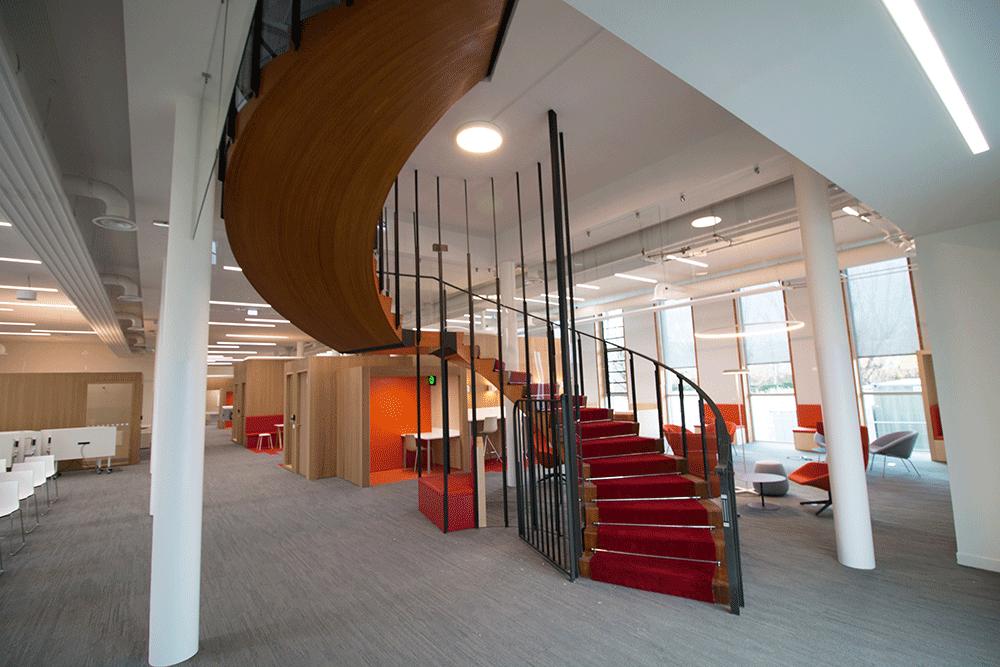 Rénovation/insonorisation de l'escalier