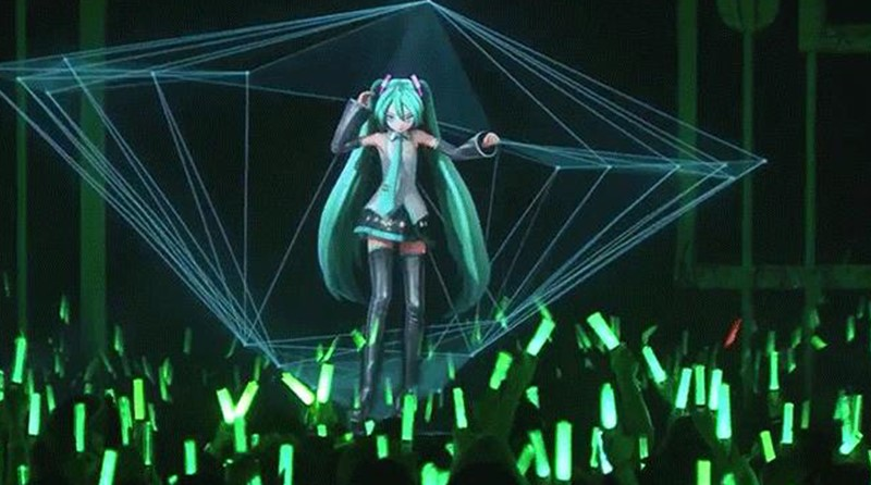 Hatsune Miku, personnage d'un logiciel de synthèse vocal (VOCALOID)